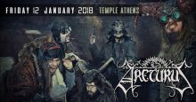 [:EL]Arcturus live at Temple Athens, January 12, 2018[:] @ Temple Athens