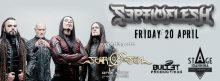 [:en]Septic Flish, Scar of the Sun, One Step from the edge live on Friday April 20th at Stage Ioannina[:EL]Septic flesh, Scar of the Sun, One Step From the Edge live, April 20th at Ioannina[:] @ Ioannina Stage