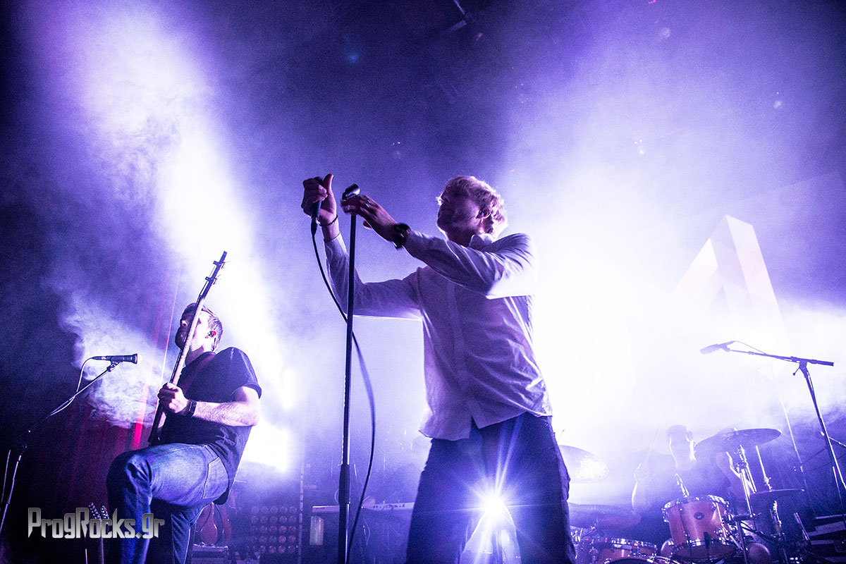 Marathon Leprous live in Athens