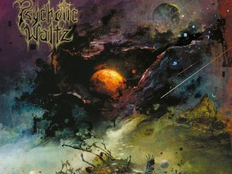 The artwork of Psychotic Waltz's album The God-shaped Void